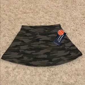 French Toast 4T Camo Green Skort NEW WITH TAGS
